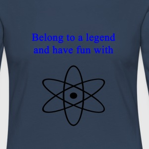 Be_a_legend - Women's Premium Longsleeve Shirt
