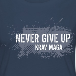 never give up - Women's Premium Longsleeve Shirt