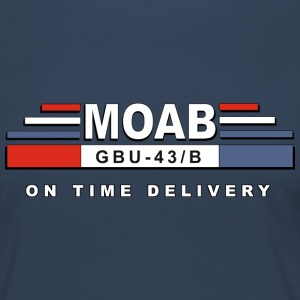 MOAB - Mother Of alla bomber (Mother Of alla bomber) - Långärmad premium-T-shirt dam