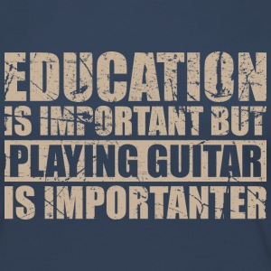 Playing guitar is importanter - Music - Women's Premium Longsleeve Shirt