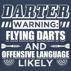 DART FLYING DARTS - Frauen Premium Langarmshirt