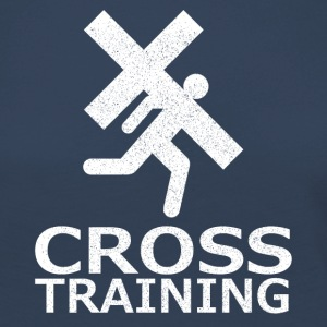 """Cross Training"" (sarcasme) - T-shirt manches longues Premium Femme"