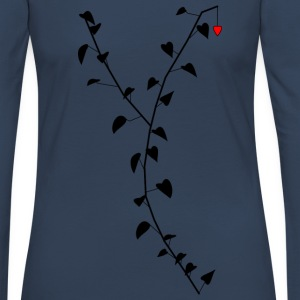 The Lonely Heart - Women's Premium Longsleeve Shirt