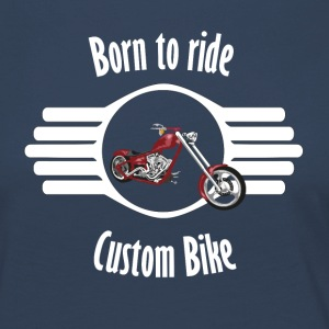 bike2 Font whitexxl - Women's Premium Longsleeve Shirt