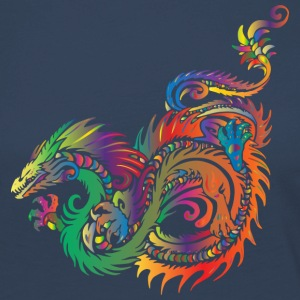 colorful dragon - Women's Premium Longsleeve Shirt