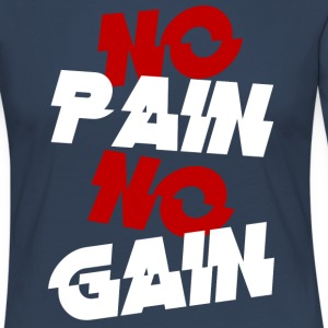 no pain - Women's Premium Longsleeve Shirt