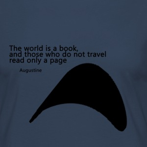 Travel_Quote_copy - Camiseta de manga larga premium mujer