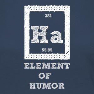 Periodic table: Ha - Element of Humor - Women's Premium Longsleeve Shirt