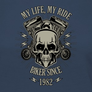 Gift for Biker - Year 1982 - Women's Premium Longsleeve Shirt