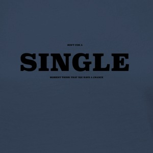 SINGLE2 - Camiseta de manga larga premium mujer