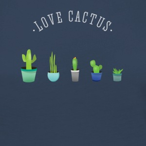 Cactus plant lover green prickly beard Love - Women's Premium Longsleeve Shirt