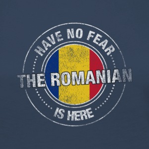 Have No Fear The Romanian Is Here Shirt - Women's Premium Longsleeve Shirt