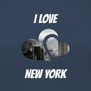J'adore New York, I love NY - T-shirt manches longues Premium Femme