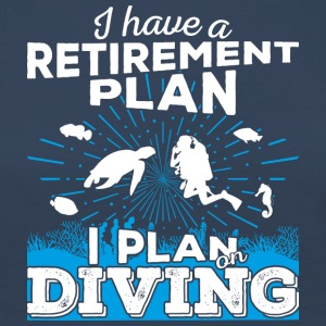 Retirement plan diving (light) - Frauen Premium Langarmshirt