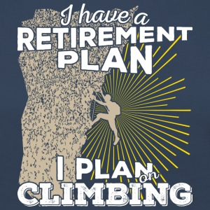 Retirement plan climbing (light) - Women's Premium Longsleeve Shirt