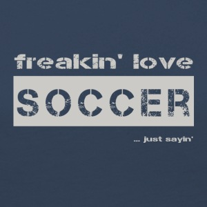 love SOCCER - bright T-shirt - Women's Premium Longsleeve Shirt