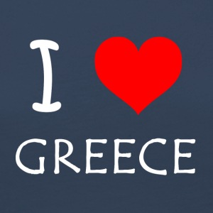 I Love Greece - Frauen Premium Langarmshirt