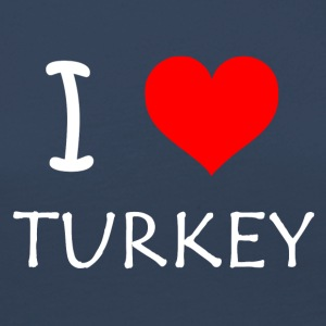 I Love Turkey - Women's Premium Longsleeve Shirt