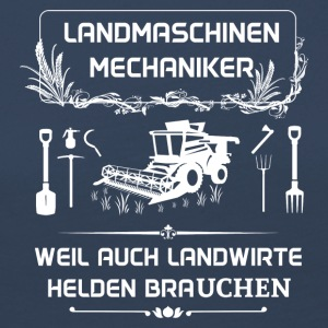 Landwmaschinenmechaniker - Because even farmers Hel - Women's Premium Longsleeve Shirt