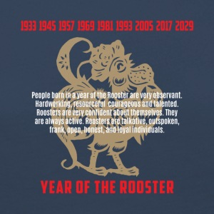 Year of The Rooster Traits Characteristics - Women's Premium Longsleeve Shirt