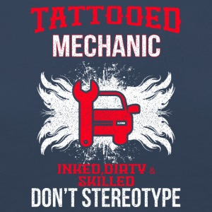 TATTOOED MECHANIC - Women's Premium Longsleeve Shirt
