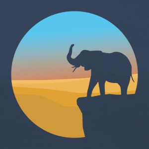 Sunset Elephant - Women's Premium Longsleeve Shirt
