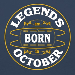 Birthday October legends born gift birth - Women's Premium Longsleeve Shirt