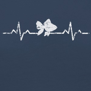 My heart beats for fish - Women's Premium Longsleeve Shirt