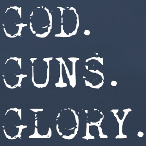 God Guns Glory - Frauen Premium Langarmshirt