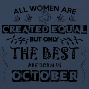 Woman Birthday October - Women's Premium Longsleeve Shirt