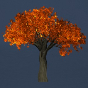 Tree with orange leaves - Autumn - Women's Premium Longsleeve Shirt