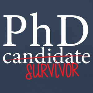 Doctor / Physician: PhD candidate or survivor? - Women's Premium Longsleeve Shirt