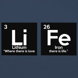 Periodic table elements: Li Fe - Life - Women's Premium Longsleeve Shirt