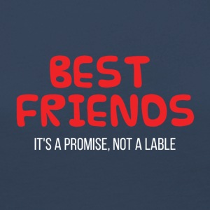 Best Friends: Best Friends. It'sa promise, not a - Women's Premium Longsleeve Shirt