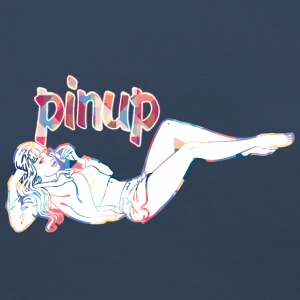 pinup girl talking with phone - Women's Premium Longsleeve Shirt