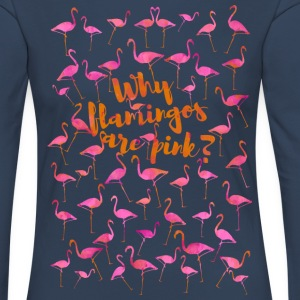 Why Are Flamingos Pink? - Women's Premium Longsleeve Shirt