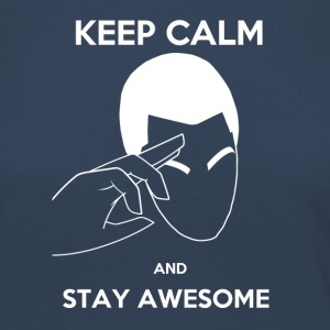 Keep Calm, Stay awesome - Women's Premium Longsleeve Shirt