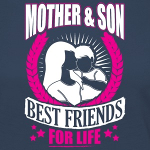 MOTHER AND SON BEST FRIENDS FOR LIFE - Women's Premium Longsleeve Shirt