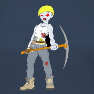 Builder Zombie Collection - Dame premium T-shirt med lange ærmer