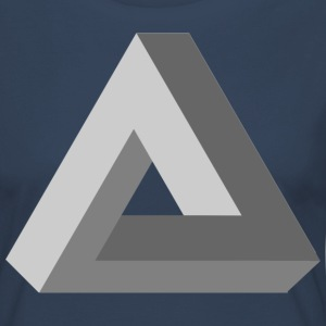 3D Impossible Triangle - Women's Premium Longsleeve Shirt