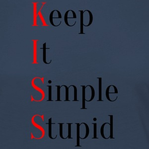 KISS - Keep It Simple Stupid - T-shirt manches longues Premium Femme