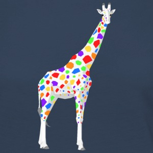 Colorful Giraffe - Women's Premium Longsleeve Shirt