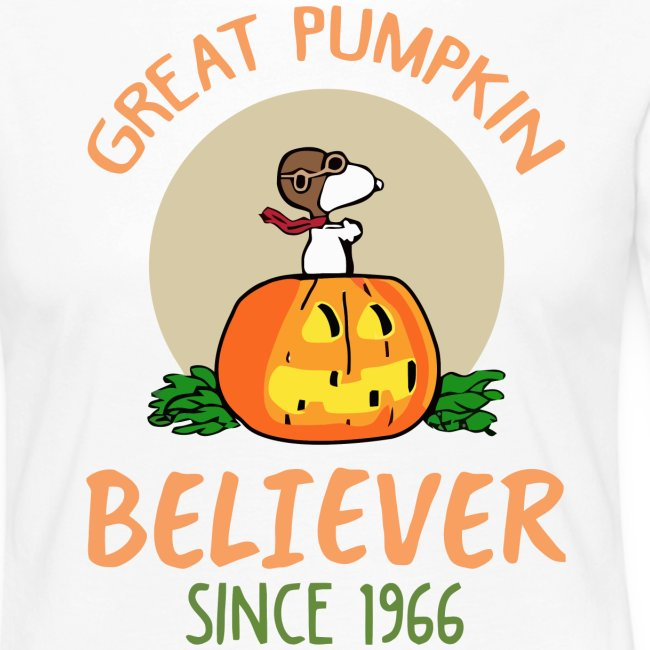 Great pumpkin believer since 1966