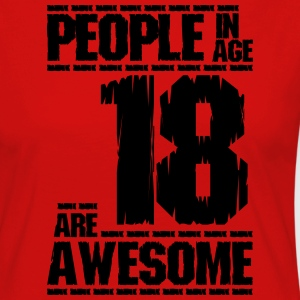 PEOPLE IN AGE 18 ARE AWESOME - Women's Premium Longsleeve Shirt