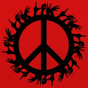 Peace 4 the World - Långärmad premium-T-shirt dam