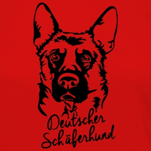 GERMAN SHEPHERD PORTRAIT - Women's Premium Longsleeve Shirt