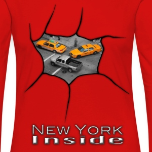 New York Inside - Women's Premium Longsleeve Shirt