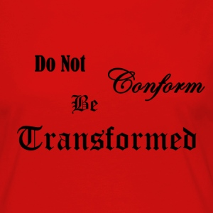 Do_Not_be_Conformed_copy - Dame premium T-shirt med lange ærmer