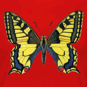 I_034_Papilio_machaon_biginerata - Camiseta de manga larga premium mujer