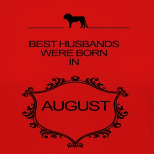 BEST HUSBAND WERE BORN IN AUGUST - Women's Premium Longsleeve Shirt